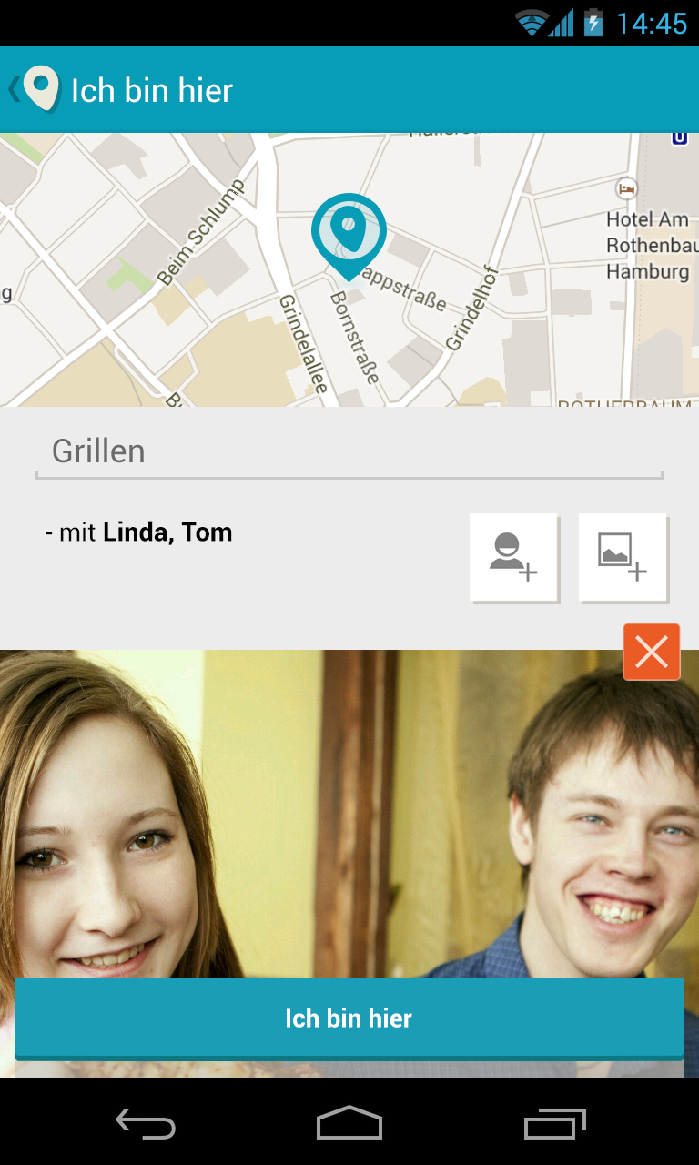 The Family Friends Locator App