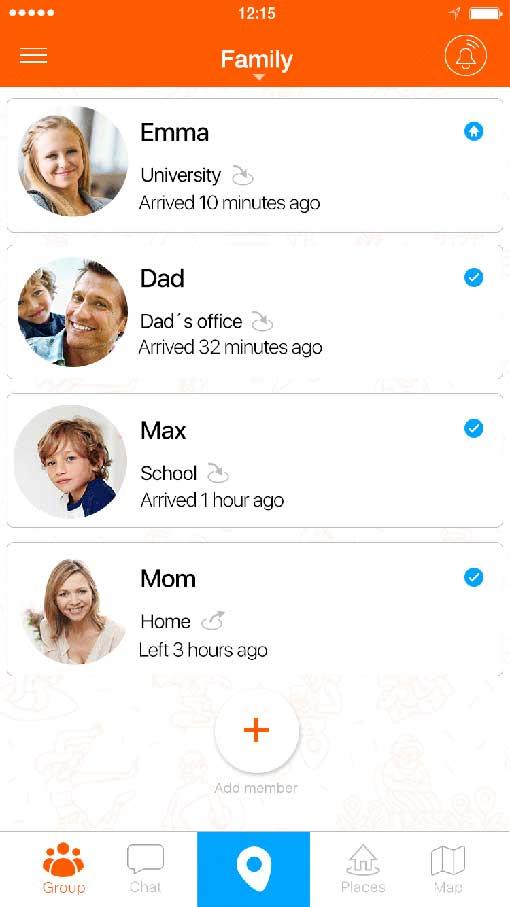 Familonet - The Family Locator App